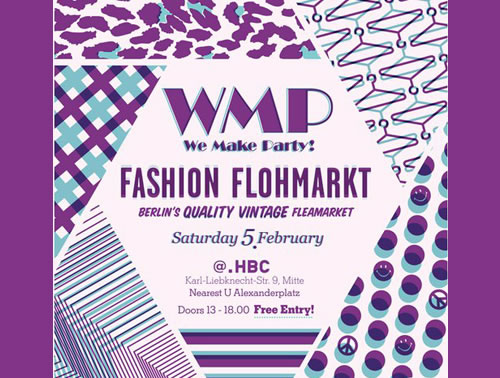 WMP! FASHION FLOHMARKT