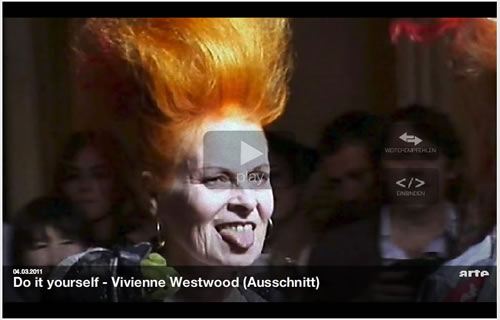 ARTE FASHION WEEK: DIY – VIVIENNE WESTWOOD