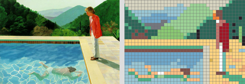 Inspirationsquelle David Hockney