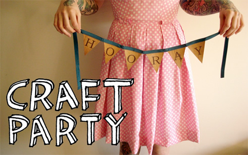 HEUTE: ETSY CRAFT PARTY