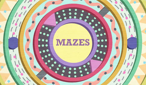 MAZES IN DEN ETSY LABS